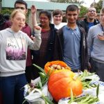 hallmoor students celebrate the harvest